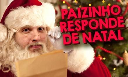 Paizinho Responde de Natal – Paizinho no YouTube