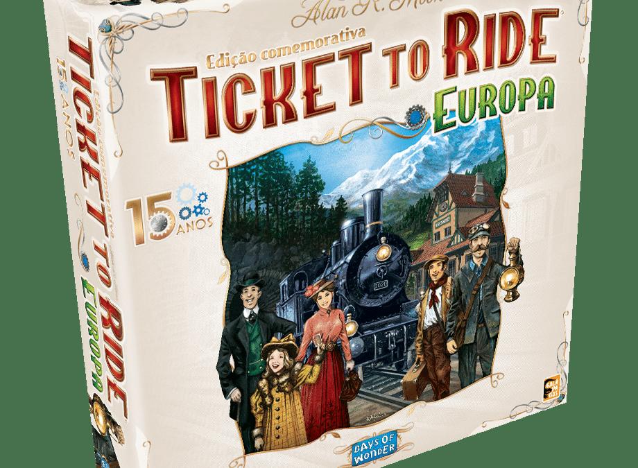 Ticket to Ride: Europa – 15 Anos
